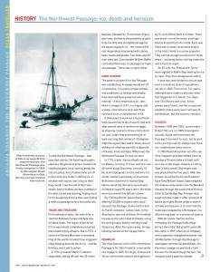 Northwest Passage article from Boat International magazine